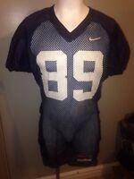 Nike Virginia Cavaliers #89 Navy Team Issue Worn Practice Football Jersey *XL*