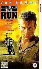 Nowhere To Run VHS VIDEO VAN DAMME