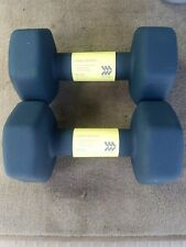 New 2 15lb Dumbells (Set) 30lbs Total Neoprene AIM All In Motion Free Shipping