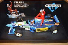 1995 MICHAEL SCHUMACHER BENETTON B195 ALESI 1ST WIN TAXI TOBACCO 1/18