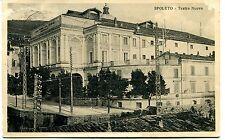 1930 Spoleto teatro Nuovo Guller destinazione Massa FP B/N VG