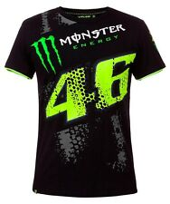 MAGLIETTA UOMO T-SHIRT MAN VR46 VALENTINO ROSSI MONSTER ENERGY ORIGINALE TG XL