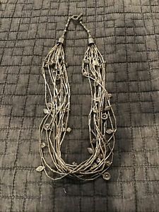 "Sterling Silver ""modern"" Fetish Handmade necklace."