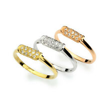 14k gold cute diamond wedding band with H/SI diamonds in 3 color options