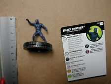 Nr 029 BLACK PANTHER      + CARD      HEROCLIX