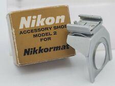 Boxed - Nikon Nikkormat SLR Camera Model 2 Accessory Shoe