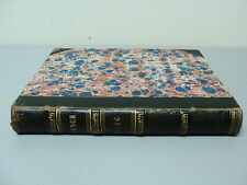 "Bound Leather Book, Vol 10 ""Punch"" Early English Political Satire, c. 1846"