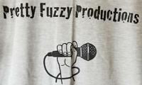 Pretty Fuzzy Productions Podcast Microphone Tee T-shirt L New Matt Fazelpoor