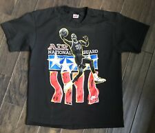 Vintage Nike Air Jordan Air National Guard T-shirt Sz XL USA NBA Basketball