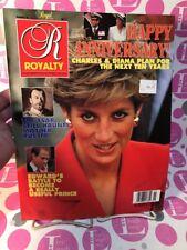 Royalty Magazine Vol 10 No 11 August 1991 HAPPY ANNIVERSARY PRINCESS DIANA -NM!