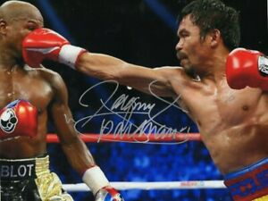Manny Pacquiao Autographed Signed 8 X 10 Photo Picture Team Pacquiao COA