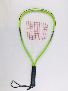 Racquetball racquet WILSON - Titanium Crushing Power Hyper Alloy Xs 3 7/8 Racket