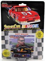Racing Champions 1/64 Die Cast Stock Nascar Car & Card Rusty Wallace #2 1992