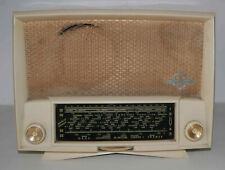 Récepteur radio TSF à lampes Ducretet Thomson L-724 blanc à restaurer