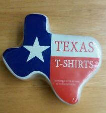 DON'T MESS WITH TEXAS TEE T SHIRT Size L Compressed w/ 50 Tons of Texas Pressure