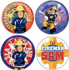 24 Muffin/ Cupcake Sam le pompier Gateau Disque Azyme Comestible Anniversaire