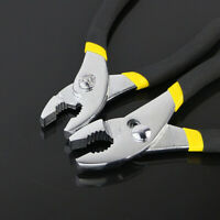 New Adjustable Water Pump Pipe Plier Groove Curved Mouth Pliers Carp Tongs Pumps