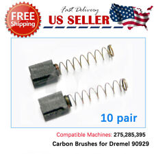 10pair carbon Brushes For 2615090929 90929 Dremel 275, 285, 395 1 & 2
