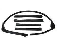 1983-1994 Cavalier & Sunbird Convertible Top Roofrail Seal Kit - Weatherstrip
