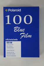 Polaroid Type 100 Blue Silk Instant Film Paul Giambarba  (expired) - Cold Stored