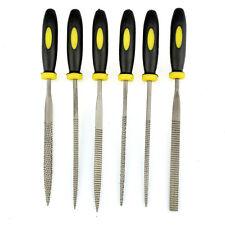 Wood Rasp Set 6pcs Carpenter 5x180mm File Carving Tools Double Riffler Tool LJ