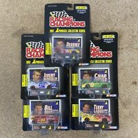 Lot Of 5 Racing Champions 1997 Pinnacle Nascar Diecast 1/64 Terry Chad Bill