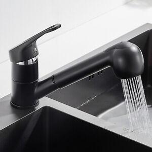 Küchenarmatur Wasserhahn Spültischarmatur Mischbatterie mit Ausziehbar Brause
