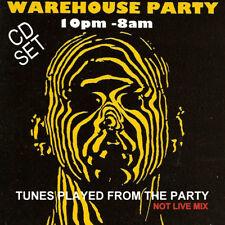 RAVE ACID HOUSE 2 DISC CD SET  OLD SKOOL WAREHOUSE PARTY