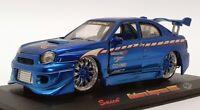 Saico 1/32 Scale Model Car TY3928 - Subaru Impreza WRX - Blue