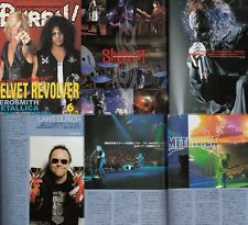 Burrn Japan Metallica,Aerosmith,Slash,Alexi Laiho,Slipknot,Gene Simmons
