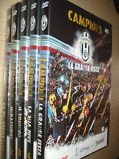 OPERA 5 DVD OFFICIAL FC JUVENTUS CAMPIONE D'ITALIA 2012 CAMPIONI SCUDETTO JUVE