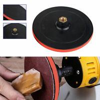 Hook Loop Rubber Backing Pad Angle Grinder Polishing Sanding M14 Female Thread