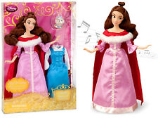 New Disney Belle Singing Doll and Costume Set - 11 1/2''