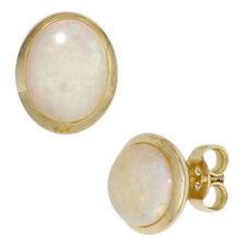 Unbehandelte Ohrschmuck im Ohrstecker-Stil mit echten Opal Edelsteinen