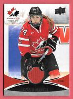 2016-17 Natalie Spooner Upper Deck Team Canada Juniors Jersey