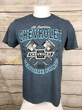 Chevrolet Genuine GM Parts Gray Short Sleeve Men's T Shirt Medium