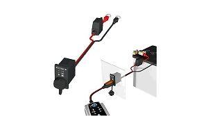 Cable pour CTEK avec Indicateur de charge à fixer sur panneau