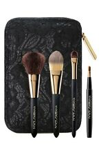 BRAND NEW! DOLCE & GABBANA MINI 4-BRUSH FACE MAKEUP TRAVEL SET MSRP $120.00