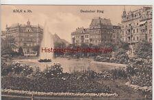 (110234) AK Köln, Deutscher Ring, 1910/20er