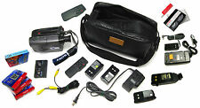 SONY HANDYCAM CCD-TRV40 8MM VIDEO 8 CAMCORDER VCR PLAYER CAMERA - 20 ITEM SET