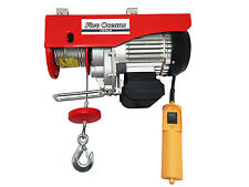 880Lb Overhead Electric Hoist crane lift garage winch w/remote 110V Five Oceans