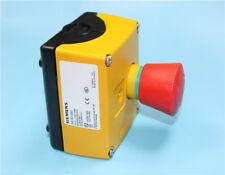 1pc New Siemens Emergency Stop Button Switch Box 3sb3801 0dg3 1nc
