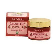 Badger Organic Damascus Rose Beauty Balm Face Moisturizer Anti Aging All Skin