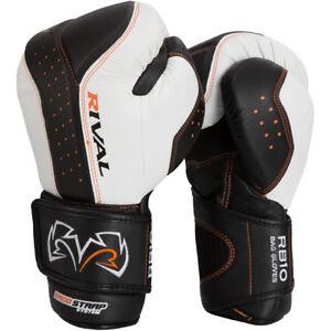 Rival Boxing d3o Intelli-Shock Bag Gloves - Black/White