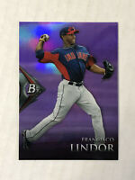 FRANCISCO LINDOR 2014 Bowman Platinum PURPLE SP RC PARALLEL #BPCP1! METS! INVEST