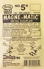 "3 packets KADEE #5 Metal Medium (9/32"") Centerset Shank. HO Scale"
