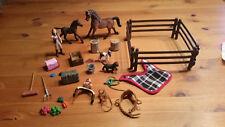 Schleich Adventskalender Pferde Weihnacht 2014 Araber Sonderedition Top !