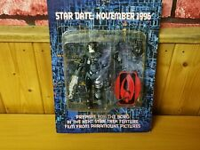 More details for ultra rare star trek first contact tri-fold borg figure