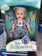 1995 Baby So Beautiful Still In Box Vintage Playmates NRFB