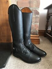 Equidor Long Leather Field / Riding Boots - Childs 13 - Clearance